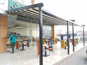 İzmir Tente Pergola Sistemi 3